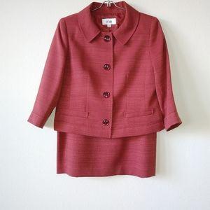 Le Suit 2-Piece Skirt Set
